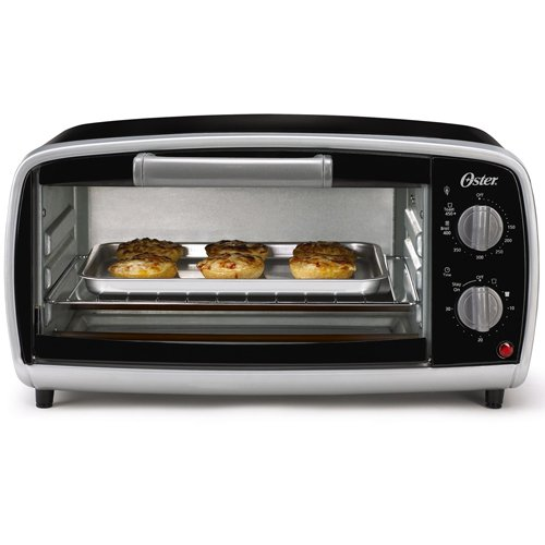 Oster TSSTTVVG01 4-Slice Toaster Oven, Black (Oster Small Oven compare prices)