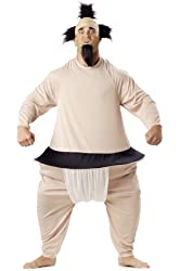 Sumo Wrestler Funny Costume - Adult Std.