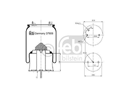 Febi Bilstein 37909 Boot, air suspension