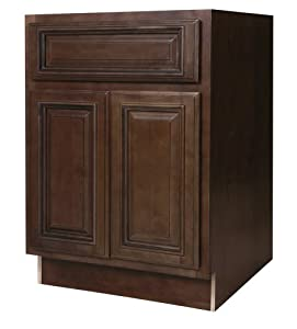 All wood cabinetry b24 hcg 24 inch wide by 34 1 2 inch for 24 inch wide kitchen cabinets