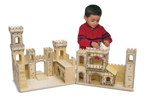 Folding Medieval Castle - Melissa  &  Doug