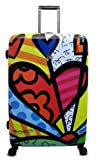 Romero Britto 30 inches Luggage Spinner Case.
