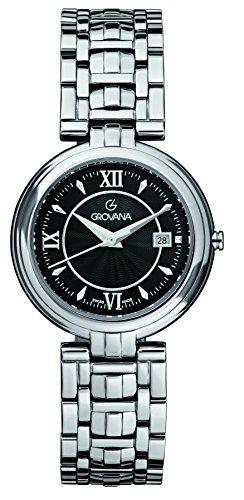 GROVANA - 5097.1137 - Montre Mixte - Quartz Analogique - Bracelet Acier Inoxydable Argent