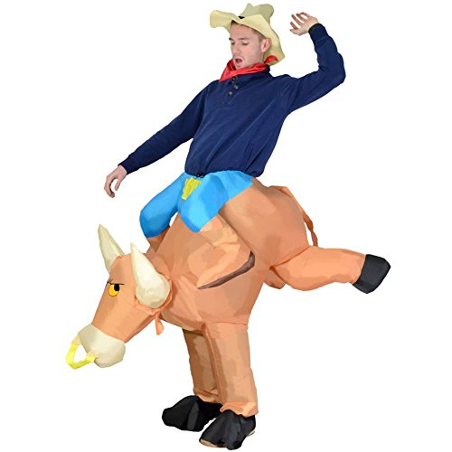 Inflatable Costumes - Rodeo Bull Fancy Dress