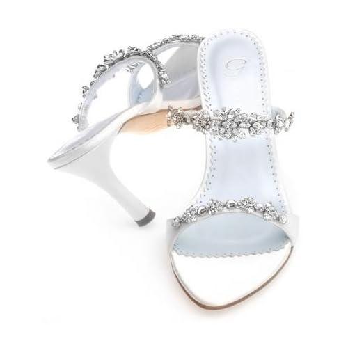 wedding shoes diamond white