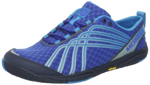 Merrell Women's Road Glove Dash 2 Running Shoe,Dazzling Blue,8 M US