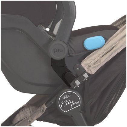 Baby Jogger Car Seat Adapter - Mounting Bracket - UPPAbaby - 1