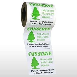 TOILET PAPER: Conserve. Precio: $3.49