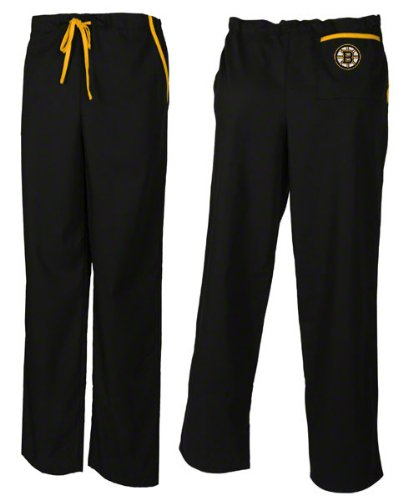 Medical Boston Bruins Black Scrub Pants