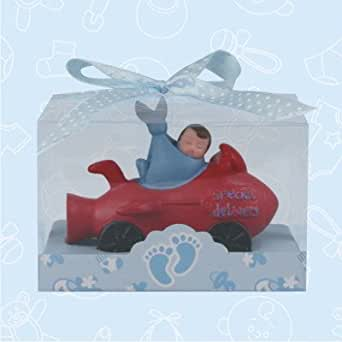 36 baby shower baby boy airplane favor in box favors gift