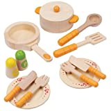 Game / Play Playfully Delicious Gourmet Kitchen Starter Set Play Set. Wooden, Cookware, Dinnerware, Toy Toy /...