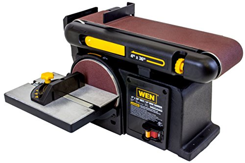 Buy WEN 6502 4 x 36-Inch Belt with 6-Inch Disc Sander