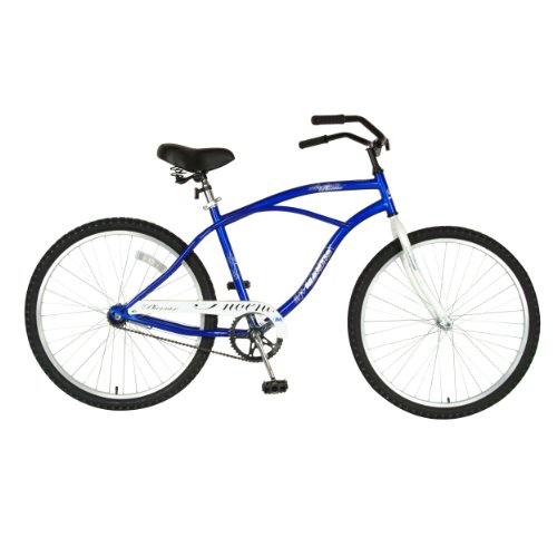 Mantis Mens' Phoenix Cruiser Bicycle (Blue, 26-Inch)