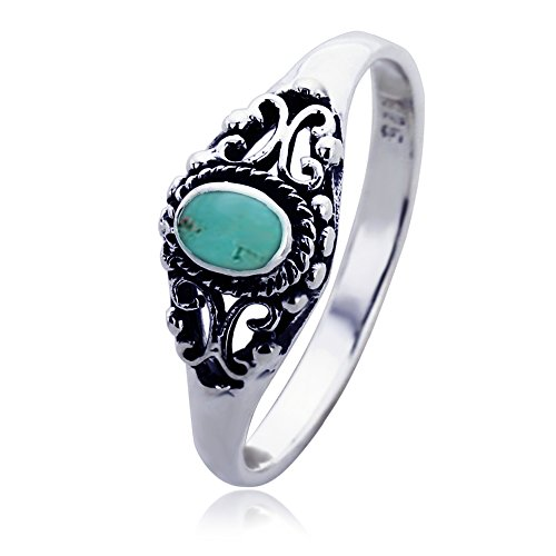 sterling silver wedding egagement simulated turquoise