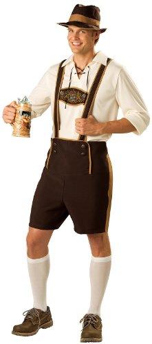 InCharacter Costumes Men's Bavarian Guy Costume, Brown/Tan, Medium