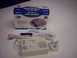 Dual Sensor Gas Alarm 12v/230v from SunSonic