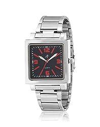 Yepme Men's Chain Watch - Black/Silver