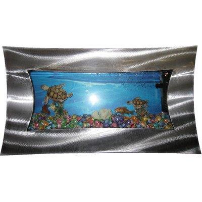 Concave Aquarium Tank Size: 5.4 Gallons