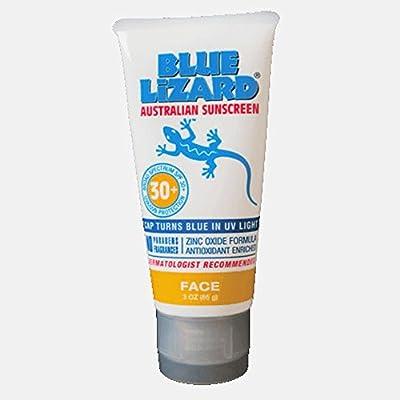 Blue Lizard Australian Sunscreen Face Bottle, 5 oz