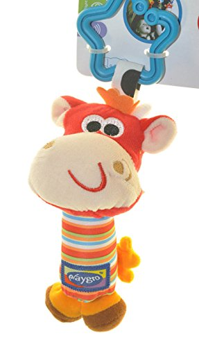 Tinkle Trio Cow Hanging Rattle Toy Bird Dog Cow Baby Pushchair Hanging Product front-1052193