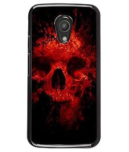 PRINTVISA Darna Mana Hai Premium Metallic Insert Back Case Cover for Motorola Moto G2 - D6002