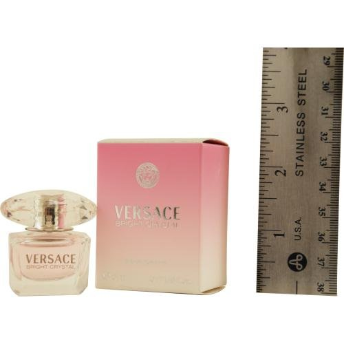 VERSACE BRIGHT CRYSTAL by Gianni Versace EDT .17 OZ MINI for WOMEN ---(Package Of 5)