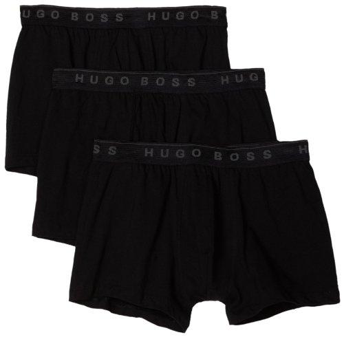 HUGO BOSS Men's Cotton Boxer Brief 3 Pack