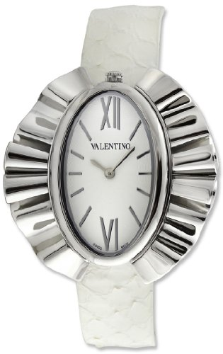 Valentino Princesse Stainless Steel Womens Fashion White Strap Watch V45LBQ9901-SV01