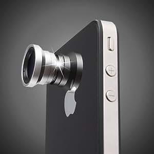 Generic Magnetic 0.67X Wide Angle / Macro Lens Designed for Apple iPhone 4 iPhone 4S iPod Nano 5 iPad