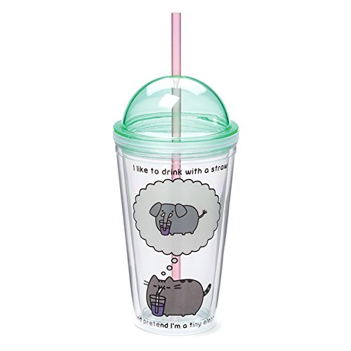 Review Gund Pusheen Tumbler, 16 oz