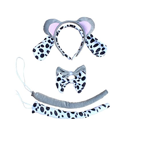 Kinzd Kids Cute Animals Mouse Dalmatian Tiger Party Halloween Costume - 1