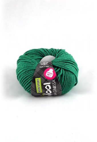 Lana Grossa McWool Neon Sport 115 golf green 50g Wolle