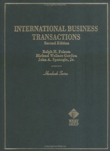 International Business Transactions (Hornbooks)