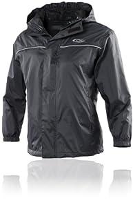 Gelert Boys Rainpod Jacket - Black, Size 3/4