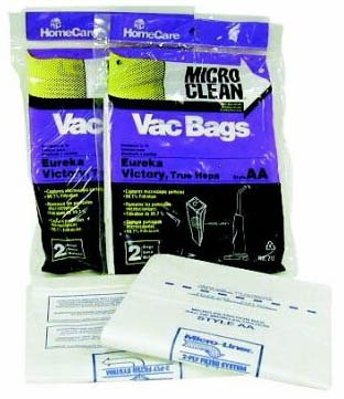 Eureka U Vacuum Bags front-30301