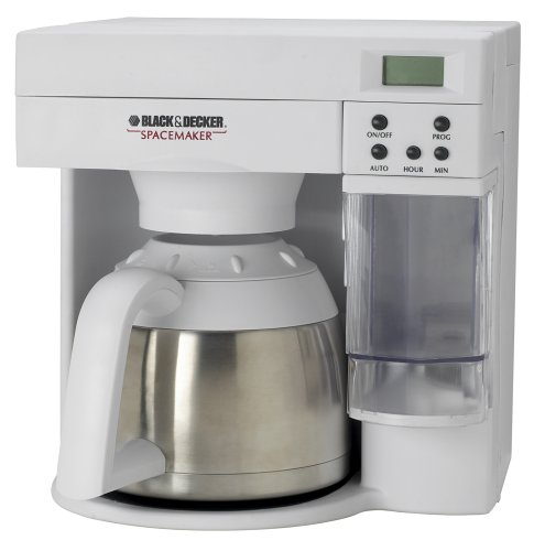 Black-Decker-ODC405-Spacemaker-10-Cup-Stainless-Steel-Thermal-Carafe-Coffeemaker