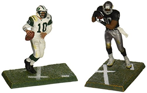 "Mcfarlane 3"" NFL 2-packs Chad Pennington & Jerry Rice"