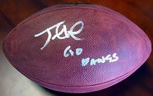 Jake Locker Washington Huskies NCAA Hand Signed Leather Football - Autographed College Footballs