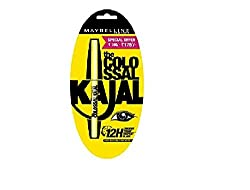 Maybelline New York The Colossal Kajal, Black, 0.35g