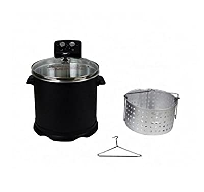 CHARD EDF-15 Electric Turkey Fryer for Turkey/Fish/Fries and Wings 15-Liter