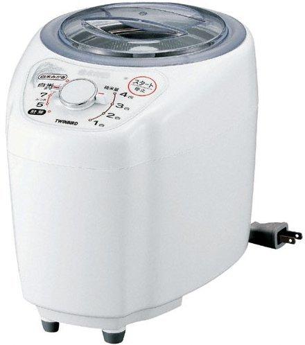 TWINBIRD 家庭用コンパクト精米器精米御膳 ホワイト MR-D570W