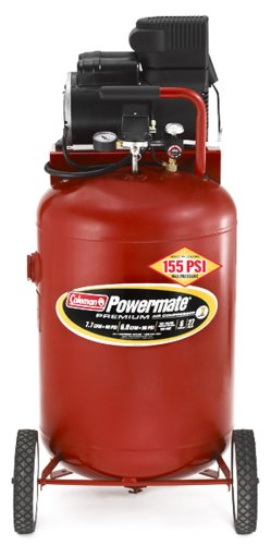 Buy Coleman Powermate Premium Series, Oil Free Direct Drive, 27 gallon Air Compressor