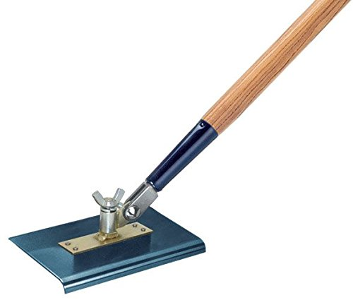 Kraft Tool CC395A-01 9-Inch by 6-Inch All-Angle Steel Walking Edger without Handle