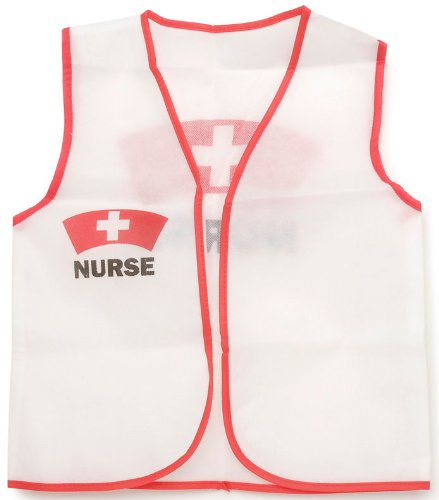 Darice Dress Up Vest - Nurse - 16 x 20 inches