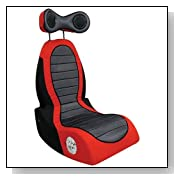 Lumisource BM-PULSE Boom Video Game Chair, Black