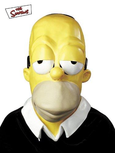 Homer Simpson Vinyl Mask (Adult)