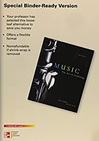 Looseleaf for Music: The Art of Listening download ebook
