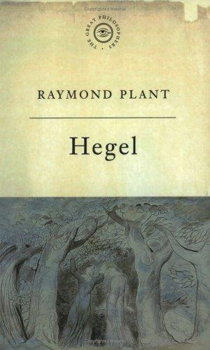 The Great Philosophers: Hegel