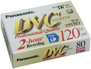 Panasonic AY-DVM80XJ MiniDV Cassette 80 MinuteB00009V2OM