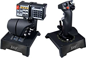 Saitek PRO Flight X-65F Combat Control System for PC